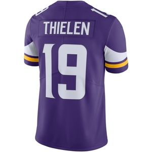 19 Thielen Purple Vapor Untouchable Limited Jersey